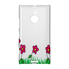 Floral Doodle Flower Border Cartoon Nokia Lumia 1520