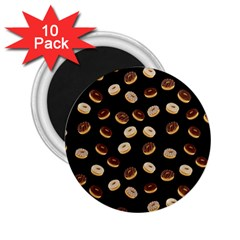Donuts pattern 2.25  Magnets (10 pack)