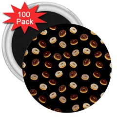 Donuts pattern 3  Magnets (100 pack)