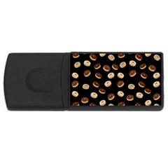 Donuts pattern USB Flash Drive Rectangular (2 GB)