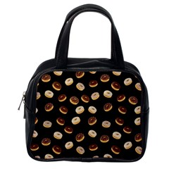 Donuts pattern Classic Handbags (One Side)