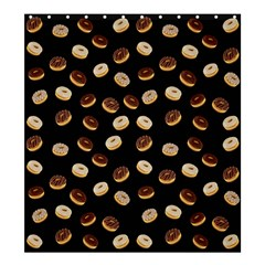 Donuts pattern Shower Curtain 66  x 72  (Large)