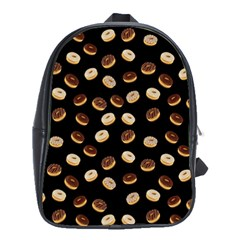 Donuts pattern School Bags(Large)