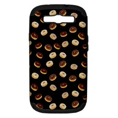 Donuts pattern Samsung Galaxy S III Hardshell Case (PC+Silicone)