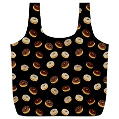 Donuts pattern Full Print Recycle Bags (L)