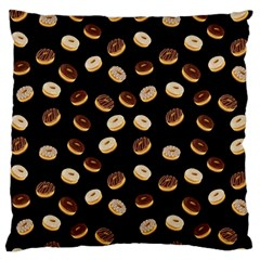 Donuts pattern Large Flano Cushion Case (One Side)