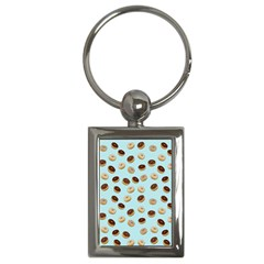 Donuts Pattern Key Chains (rectangle)