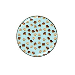 Donuts pattern Hat Clip Ball Marker