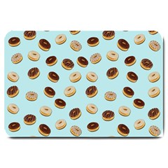 Donuts pattern Large Doormat