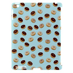 Donuts pattern Apple iPad 3/4 Hardshell Case (Compatible with Smart Cover)