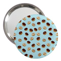 Donuts pattern 3  Handbag Mirrors
