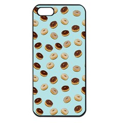 Donuts pattern Apple iPhone 5 Seamless Case (Black)