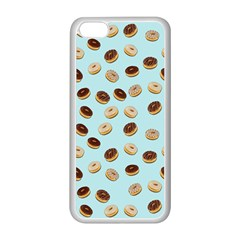 Donuts pattern Apple iPhone 5C Seamless Case (White)