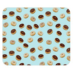 Donuts pattern Double Sided Flano Blanket (Small)