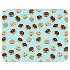 Donuts Pattern Double Sided Flano Blanket (medium)