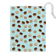Donuts pattern Drawstring Pouches (XXL)