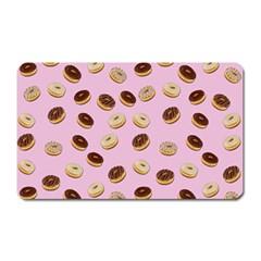Donuts pattern Magnet (Rectangular)