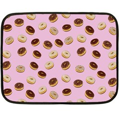 Donuts pattern Fleece Blanket (Mini)