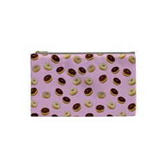 Donuts pattern Cosmetic Bag (Small)
