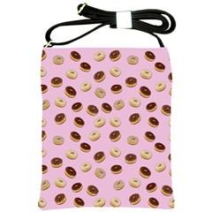 Donuts pattern Shoulder Sling Bags