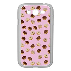 Donuts pattern Samsung Galaxy Grand DUOS I9082 Case (White)