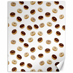 Donuts pattern Canvas 11  x 14