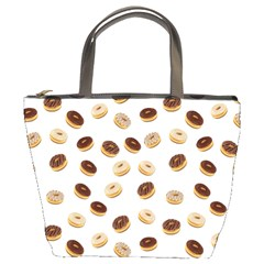 Donuts pattern Bucket Bags