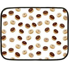 Donuts pattern Double Sided Fleece Blanket (Mini)