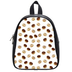 Donuts pattern School Bags (Small)