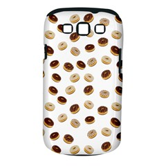 Donuts pattern Samsung Galaxy S III Classic Hardshell Case (PC+Silicone)