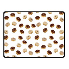Donuts pattern Double Sided Fleece Blanket (Small)