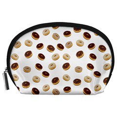 Donuts pattern Accessory Pouches (Large)