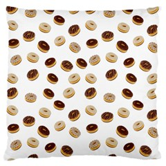 Donuts pattern Standard Flano Cushion Case (Two Sides)