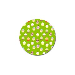 Cupcakes pattern Golf Ball Marker (10 pack)