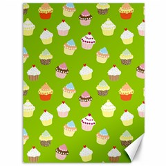 Cupcakes pattern Canvas 36  x 48