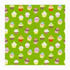 Cupcakes pattern Medium Glasses Cloth (2-Side)