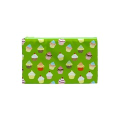 Cupcakes pattern Cosmetic Bag (XS)