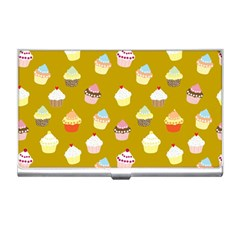 Cupcakes pattern Business Card Holders