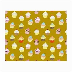 Cupcakes pattern Small Glasses Cloth