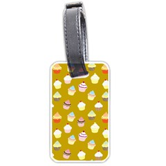 Cupcakes pattern Luggage Tags (One Side)