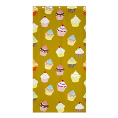 Cupcakes pattern Shower Curtain 36  x 72  (Stall)