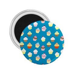 Cupcakes pattern 2.25  Magnets