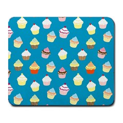 Cupcakes pattern Large Mousepads