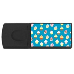 Cupcakes pattern USB Flash Drive Rectangular (2 GB)