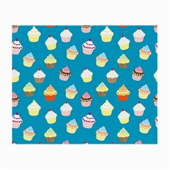Cupcakes Pattern Small Glasses Cloth (2 Side)