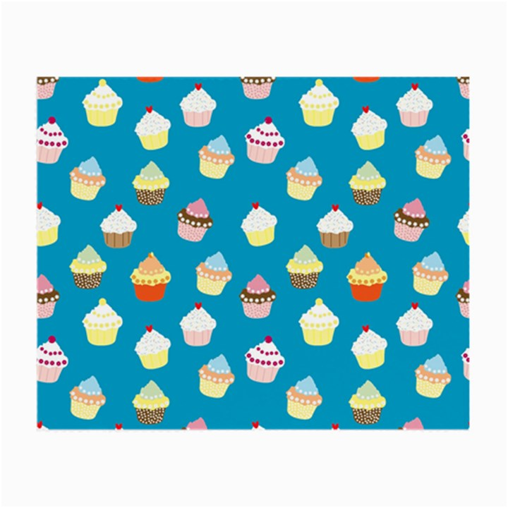 Cupcakes pattern Small Glasses Cloth (2-Side)