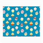 Cupcakes pattern Small Glasses Cloth (2-Side) Back