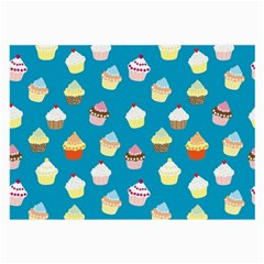 Cupcakes pattern Large Glasses Cloth (2-Side)