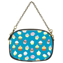 Cupcakes pattern Chain Purses (Two Sides)