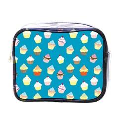 Cupcakes pattern Mini Toiletries Bags